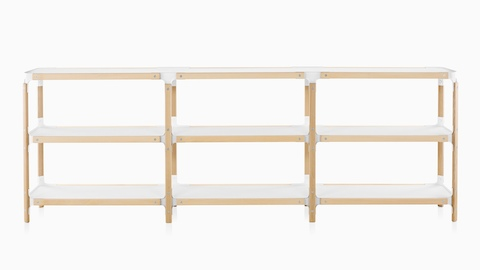 Magis Steelwood Shelving System - Storage Cabinet - Herman Mill