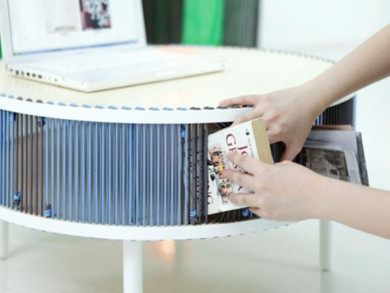 Moire Furniture Collection With A New Storing Approach - DigsDi