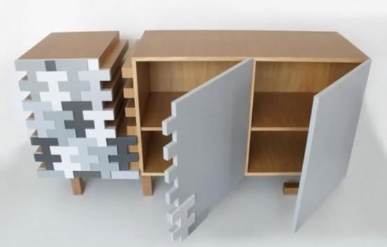Monochromatic And Chaotic Taree Sideboard by E1+E4 - DigsDi