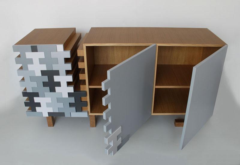 TAREE Sideboard by Terezie Simonova for E1+E4 | Design Chronic