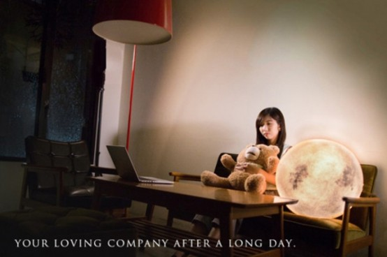 Moon In Your Home: Dreamy And Romantic Luna Lamp - DigsDi
