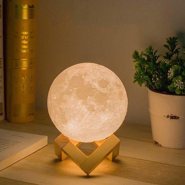 This moon lamp is gorgeous #moonlamp #nightlight | Decor, Cheap .