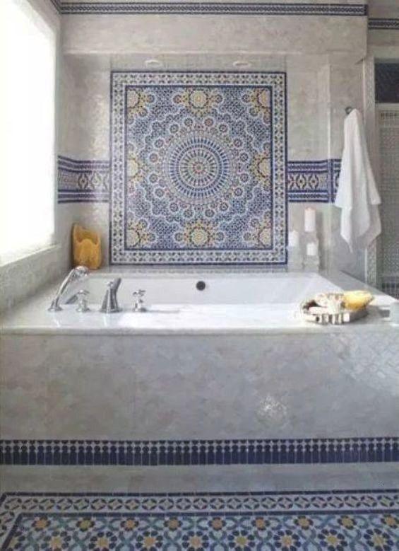 moroccan #interior #morrocan #bathroom #design #t in 2020 .