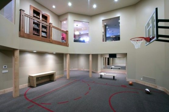 5 The Most Cool And Wacky Basements Ever | Home gym design, Dream .