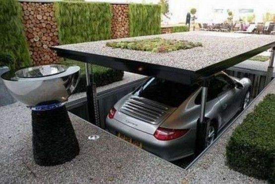 10 The Most Cool And Wacky Garages Ever | Garage house .
