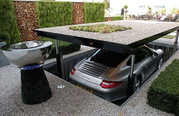 10 The Most Cool And Wacky Garages Ever | DigsDigs | Garage house .