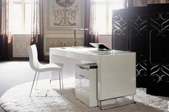 34 Most Stylish Minimalist Home Offices You'll Ever See - DigsDi