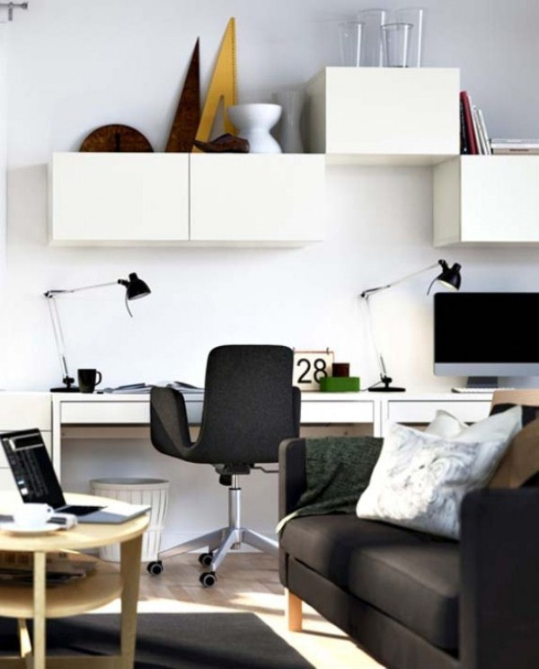 On Style   Today:2020-09-04   Cool Minimalist Home Office   He