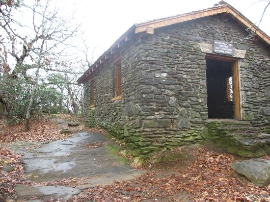Blood mountain Shelter - Picture of Appalachian Trail, Georgia .