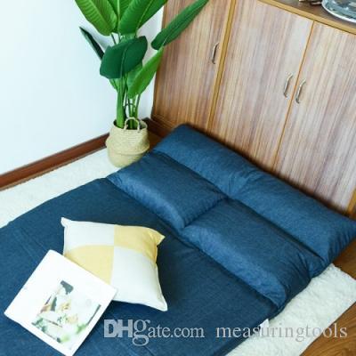 Double Foldable Dual Purpose Sofa Multi Functional Lazy Sofa Floor .