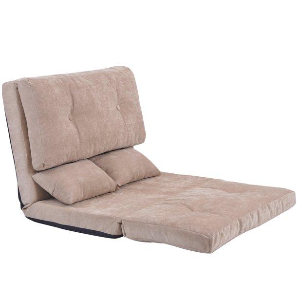 Clearance!Floor Chair Sleeper, Foldable Floor Sofa Bed, Multi .