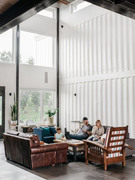 A Colorado Firefighter Built His Own Shipping Container Home, and .