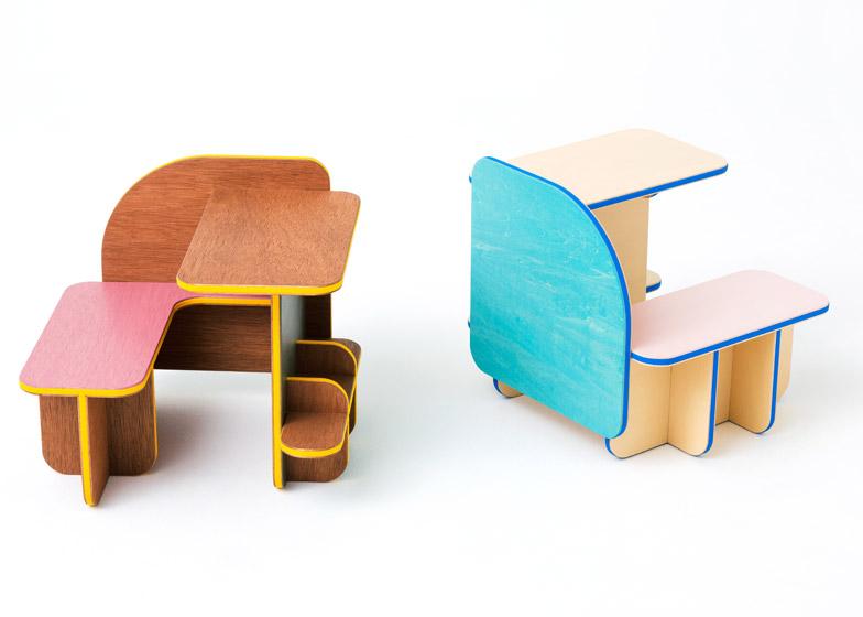 Torafu Architects designs multi-functional Dice furnitu