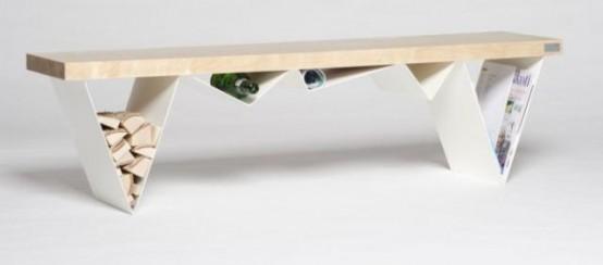 Multifunctional Mägi Bench Accentuating Your Storage - DigsDi