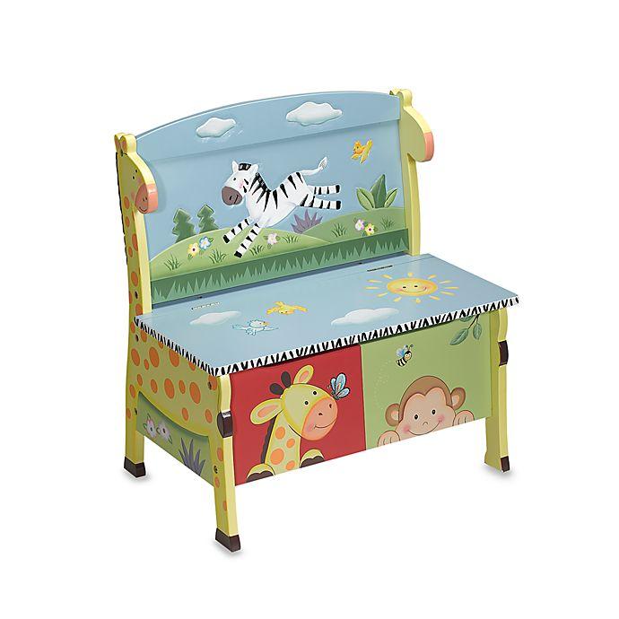 Teamson Sunny Safari Storage Bench | buybuy BA