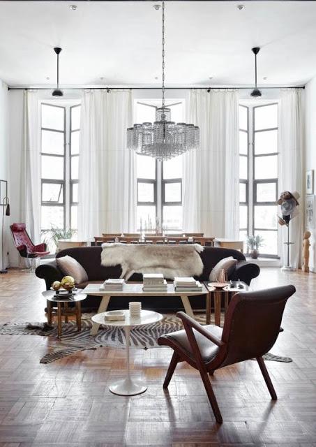 Glam Art Deco Apartment in Muted Colors - DigsDi