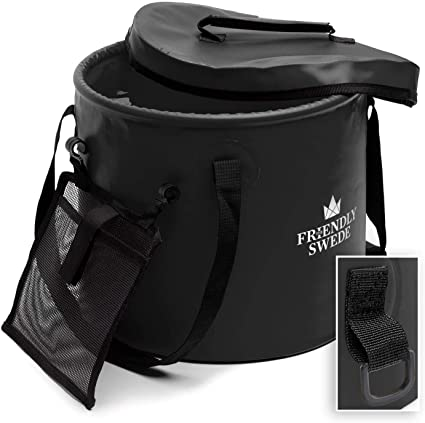 Amazon.com : The Friendly Swede Collapsible Bucket for Camping .