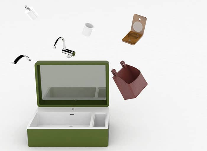 MY.BAG Portable Washbasin From A Case – Vur