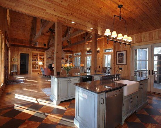 Design Ideas: Beautiful Open Floor Plan Living Space Budd's Cabin .
