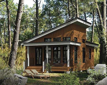 Plan 80674PM: Vacation Getaway Cottage | Contemporary house plans .