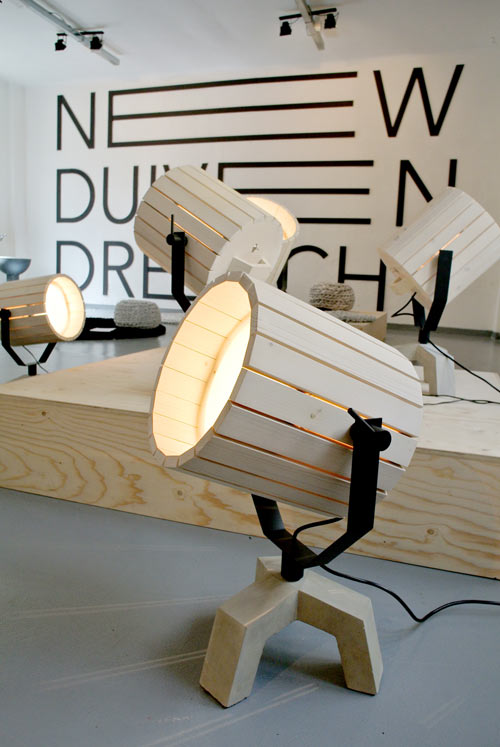 The Barrel Lamp by Nieuwe Heren for New Duivendrec