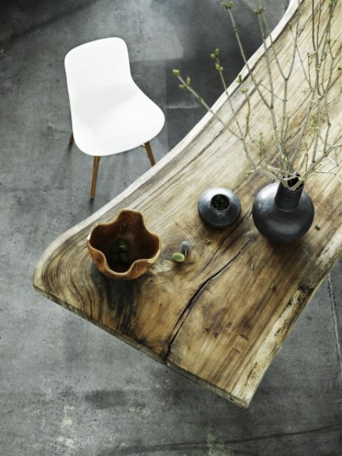 Natural Beauty And Elegance: Rough Table By Norr11 - DigsDi