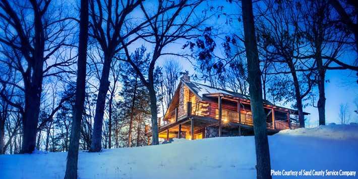 6 Cabins for Romantic Winter Getawa