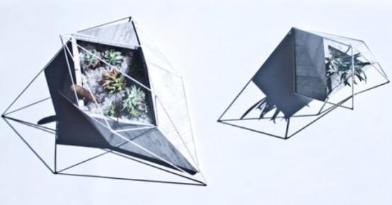 Neo Geo Terrarium Inspired By The Chilean Desert - DigsDi
