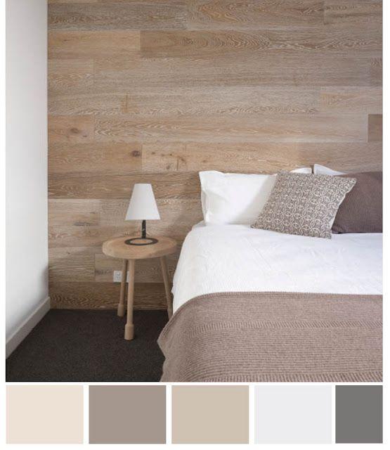Neutral Color Palette - for the master bedroom   Home bedroom .