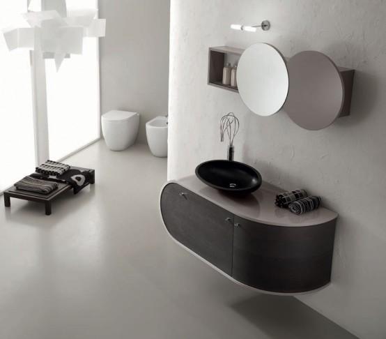 black and white bathroom furniture Archives - DigsDi