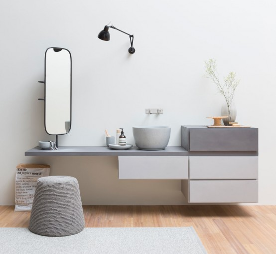 contemporary bathroom furniture Archives - DigsDi