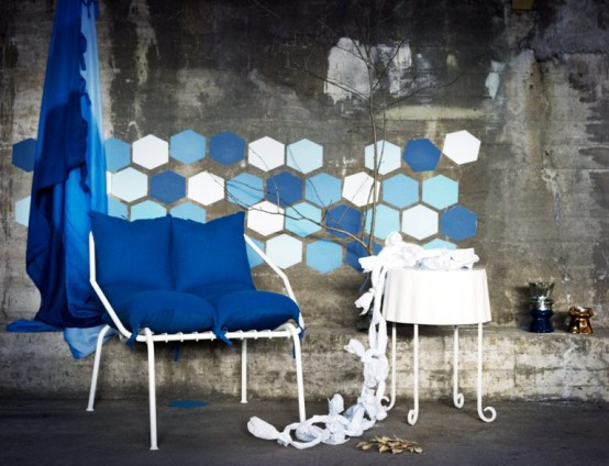 New IKEA Collection In Dark And Light Blue - DigsDi