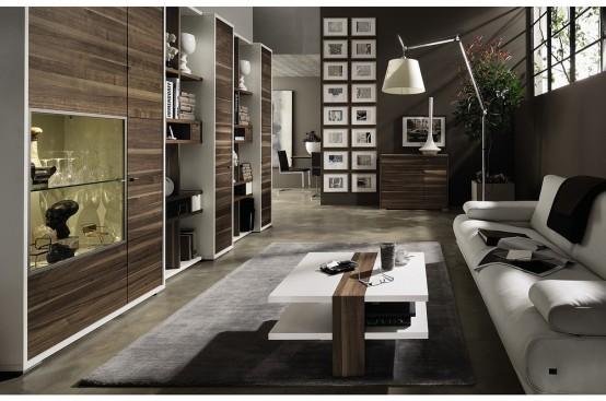 New Modern Living Room Furniture - Mento by Hülsta - DigsDi