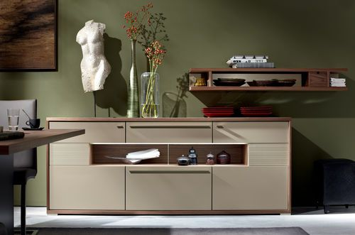 Contemporary wooden sideboard MENTO hülsta | Furniture, Wooden .