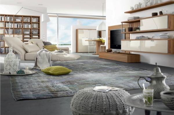 Modern living room furniture – original and multifunctional .