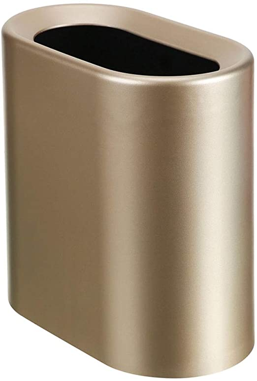 Nordic Narrow Slot Trash can Home Creative Double-Layer Garbage .