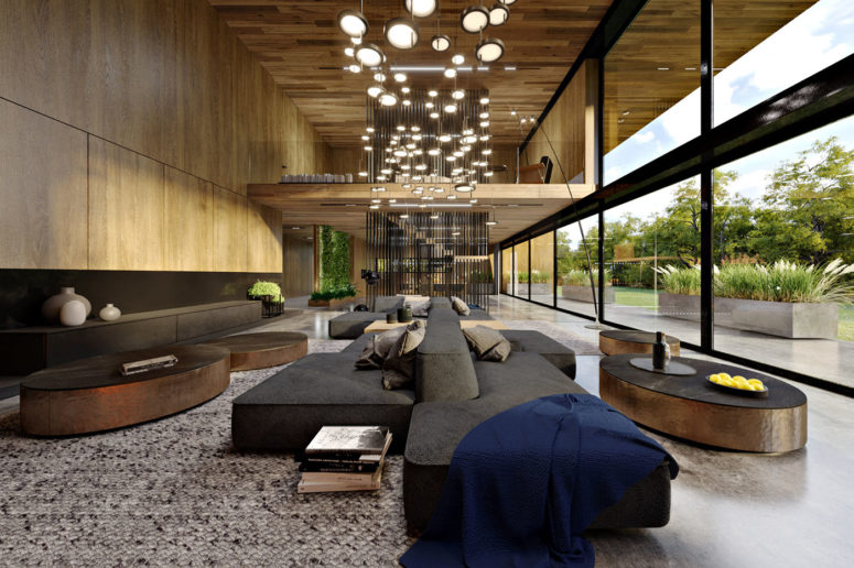 Modern Oak-Covered House With Forest Views - DigsDi