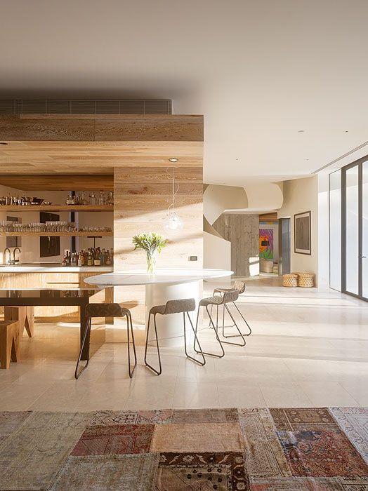 Beautiful Oak Floor and Wall Paneling   House design, Royal oak .