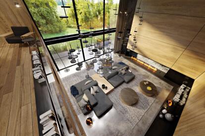 Oak-covered house   KANDO ARCHITECTS   Archel
