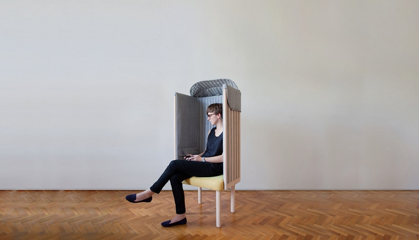 Offline chair blocks off mobile and WI-FI signals on Behan