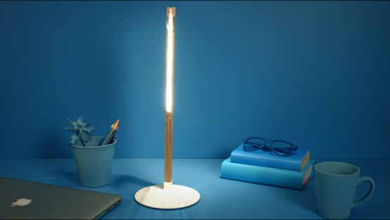 Optical Illusion Bulbing Lamps With 3D Effects - DigsDi