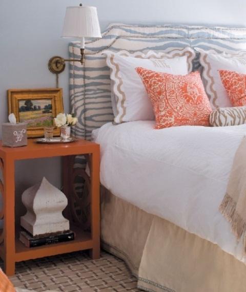 Orange Accents In Bedrooms – 68 Stylish Ideas - DigsDi