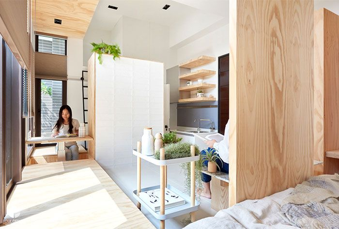 35 Contemporary Micro Apartment Organized With Boxes | Apartment .