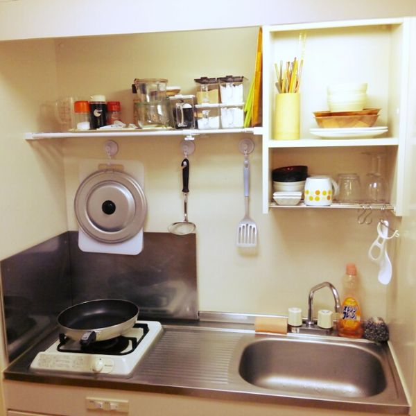 How to Organize a Small Japanese Kitchen - Bl