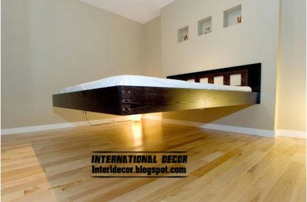 floating bed, creative beds for modern interior | Bedroom bed .