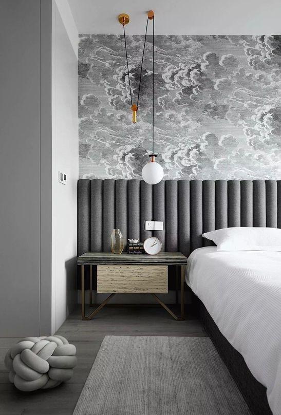 Headboard Design Ideas for a creative and original bedroom decor .