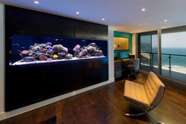 24 Original Ideas with Aquarium in Home Interior   Home aquarium .