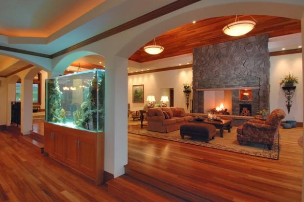 24 Original Ideas with Aquarium in Home Interi