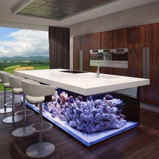 55 Original Aquariums In Home Interiors   DigsDigs   Home interior .