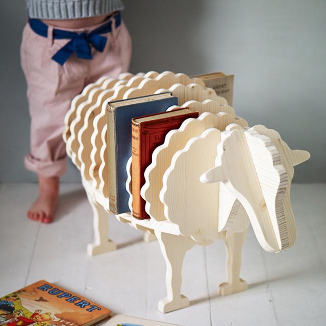 Baa-Baa Bookshelf To Keep Books With Fun | Kidsoman